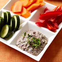 Image of black bean dip