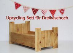 Barbaras Blumenkinder und Puppen Welt: DREIKÄSEHOCH GEHT SCHLAFEN *Folge 1* Upcycling Pup...