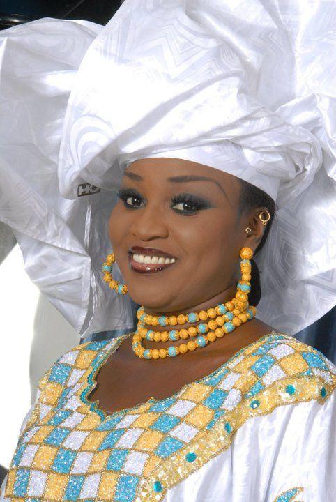 La grande diva Fademba Diop, patronne du complexe la linguère en mode traditionel