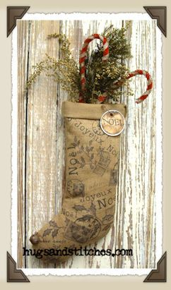 french country christmas ornaments   of 2 9022 french country noel sock ornament our french inspired noel ...