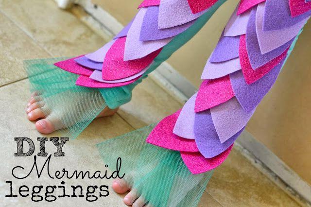 Mermaid legs