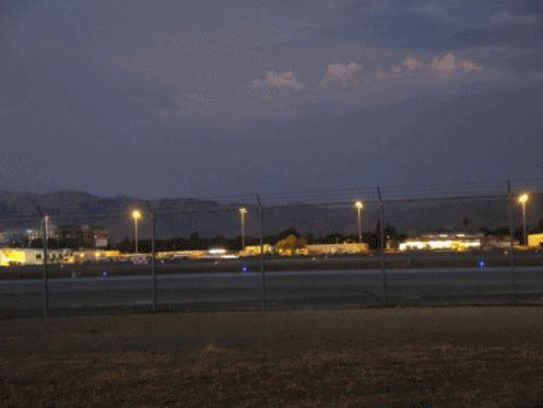 UFOLOGIA - OVNIS ONTEM: UFO em San Jose - International Airport San Jose