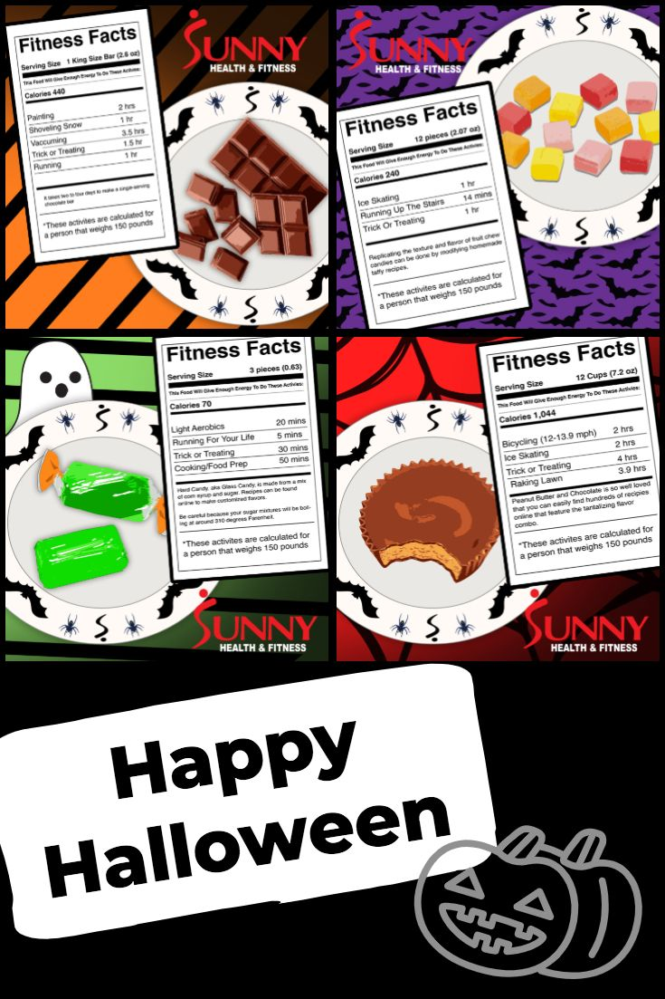 Trick Or Treat Nutrition Facts Health Facts Fitness Nutrition Motivation School Nutrition