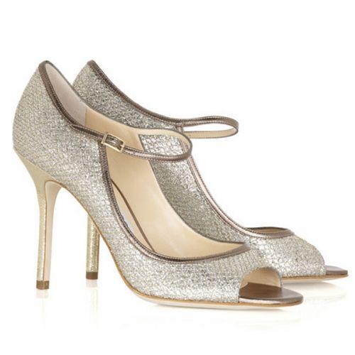 Pumps & High Heels for Women On Sale, Champagne, Glitter, 2017, 7.5 Jimmy Choo London