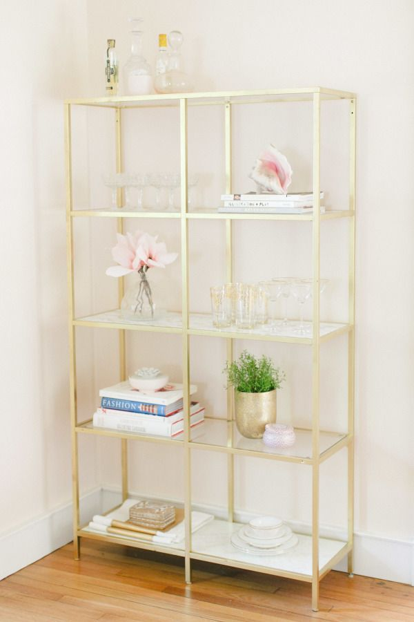gorgeous diy shelf