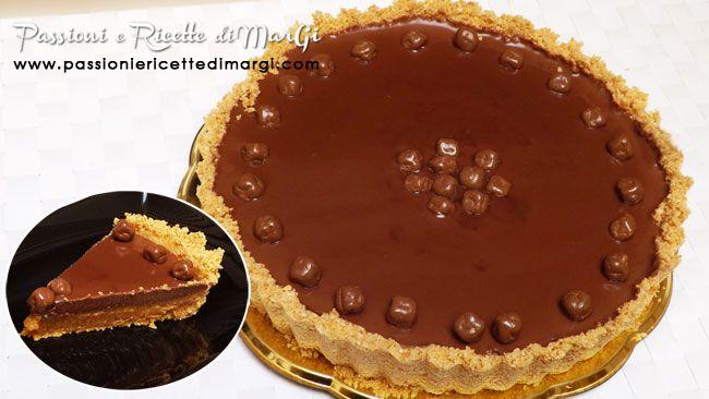 Torta mou e cioccolato: un dolce senza cottura, fresco, cremoso e super goloso!