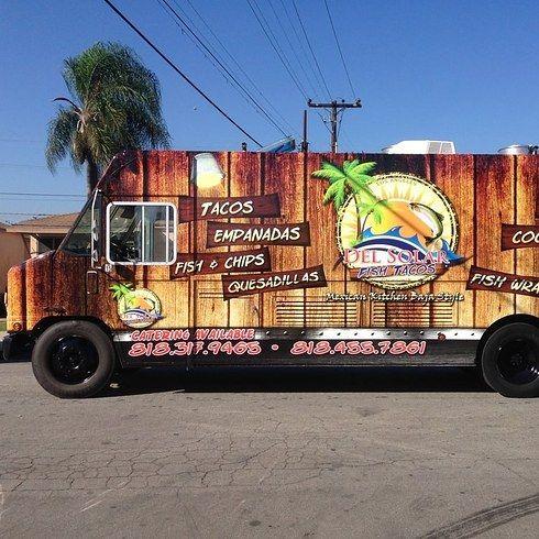 Del Solar Fish Taco Truck   19 Of The Best Food Trucks In Los Angeles