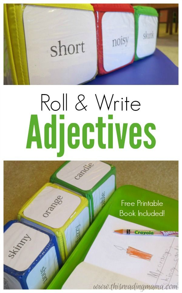Getting kids to include adjectives in their writing to extend and elaborate on their writing is sometimes like pulling teeth. Many kids {not all; some kids really do enjoy writing} try and get away with the bare bones of simple nouns and verbs so that they don't have to write as many words.