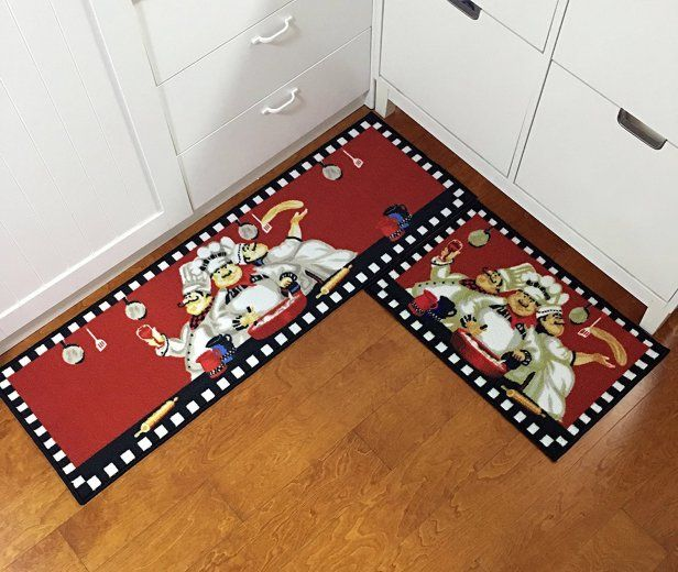 Red Kitchen Rug Set Color Your Kitchen Kitchen Rugs Washable