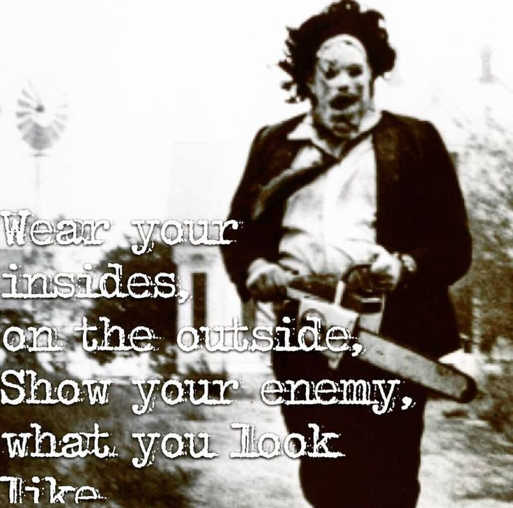 Leathers and Leatherface
