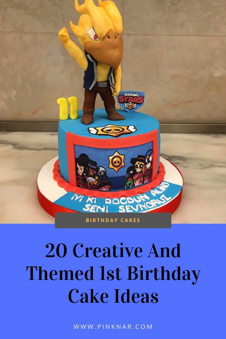 20 Awesome ideas for your baby's birthday cake | Baby ...