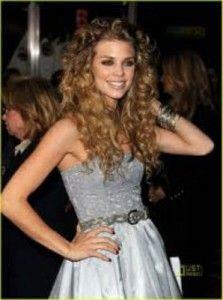 AnnaLynne McCords Long Curls