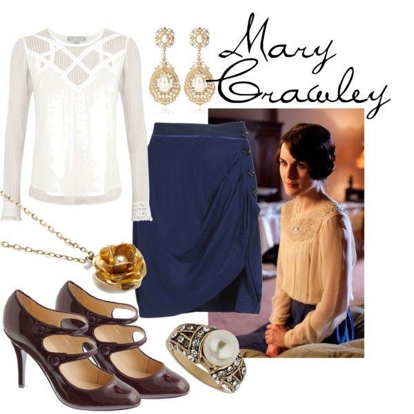 """""""Lady Mary Crawley"""" by fandom-wardrobes on Polyvore"""