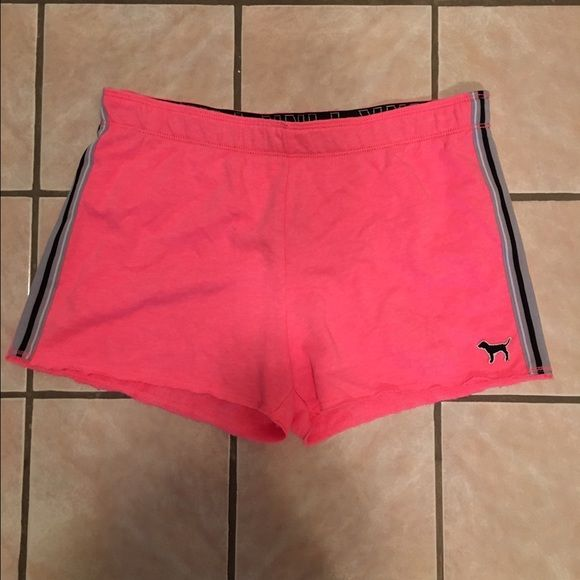 NWT VS pink knit short Smoke free and pet free home. PINK Victoria's Secret Shorts
