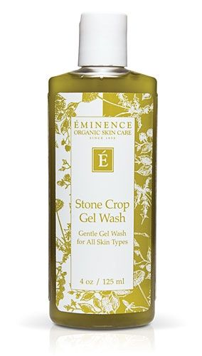 This moisturizing formula is free of irritating ingredients. Eminence Stone Crop Gel Wash doesn't contain Sodium Lauryl Sulfate, so it won't cause irritating reactions to your sensitive skin. Shea Butter and Stone crop help heal your skin while cleansing. $38.00