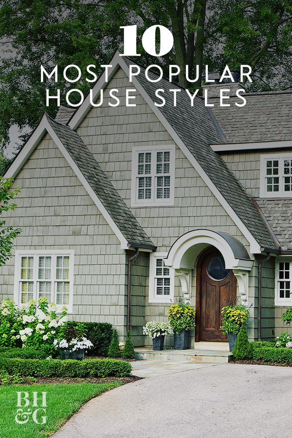 What Style Is Your House The 10 Most Popular House Styles Explained In 2020 Cottage Style House Plans House Styles Cottage Style