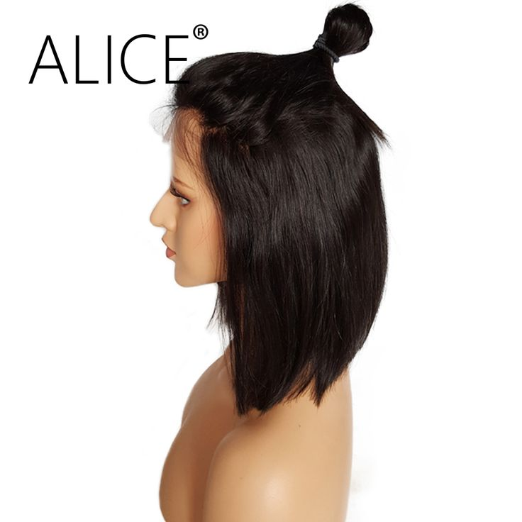 ALICE 150 Density Short Bob Full Lace Front Human Hair Wig 8-14 Inches Brazilian Remy Hair Wig With Baby Hair Bleached Knots //Price: $US $108.36 & FREE Shipping //   http://humanhairemporium.com/products/alice-150-density-short-bob-full-lace-front-human-hair-wig-8-14-inches-brazilian-remy-hair-wig-with-baby-hair-bleached-knots/  #remy_hair
