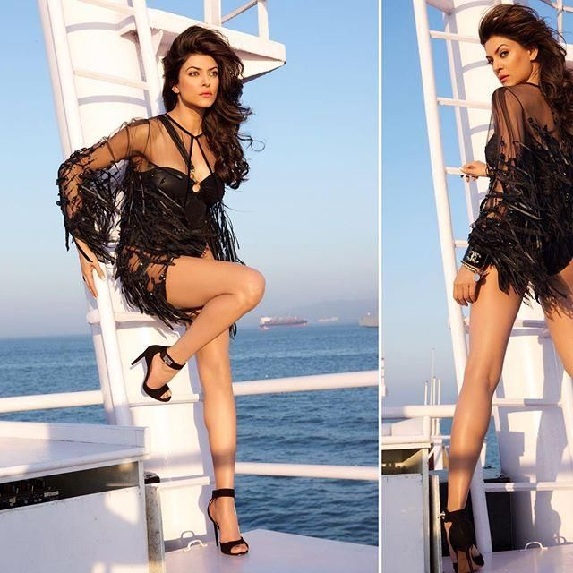 Sushmita Sen is 40 and she's not shy to admit it. In fact, she is proud to announce her age. With the most seductive picture, Sushmita took to her so...