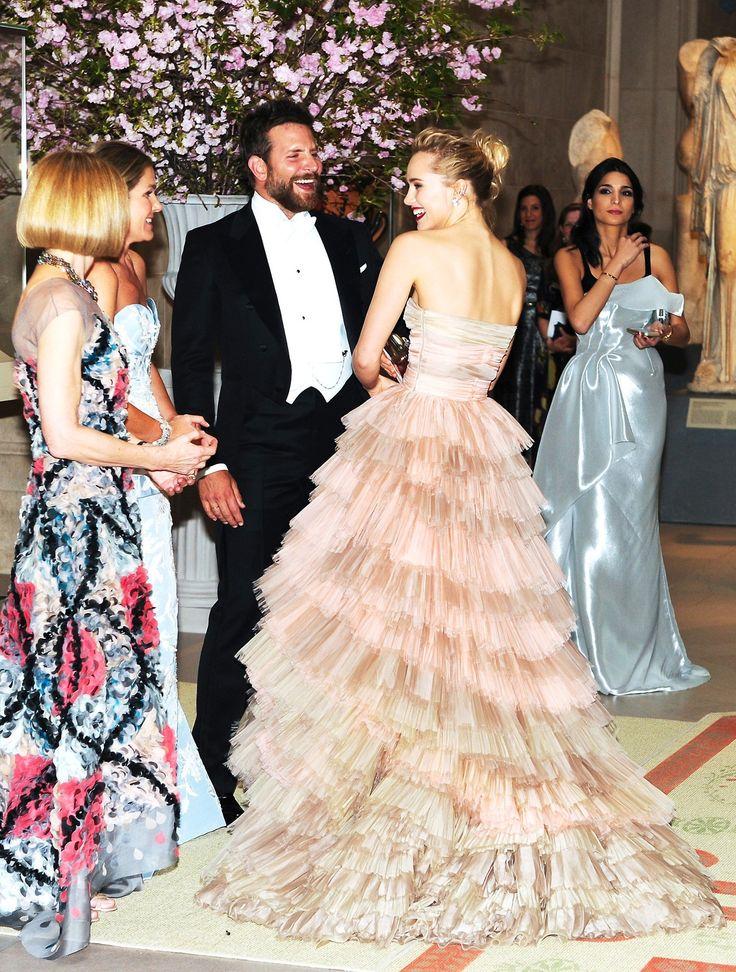Anna Wintour, Aerin Lauder, Bradley Cooper & Suki Waterhouse