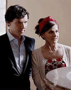 "Sherlock and Molly. Sherlock S04 E01 ""The Six Thatchers"". Season 4."