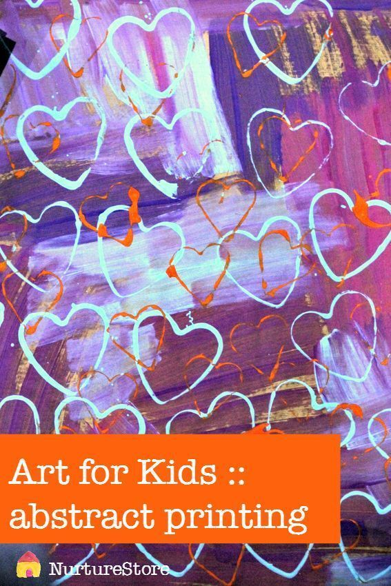 Gorgeous Abstract Art Project For Kids