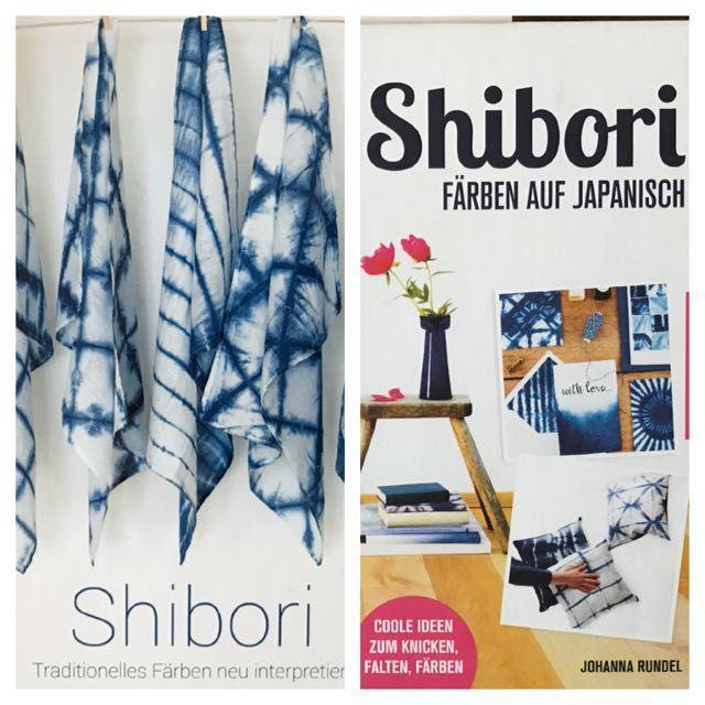 """Am Wochenende habe ich zusammen mit Susanne von der """" Hamburger Liebe """" und Nina von """" Hedi näht! """" im Stoffdeck  einen Shibori-Kurs gemach..."""