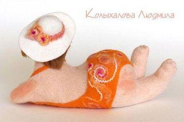Valânaâ doll, author Kolyhalova Ludmila magazine: http://www.livemaster.ru/item/228507-doll-igrushki-nadin