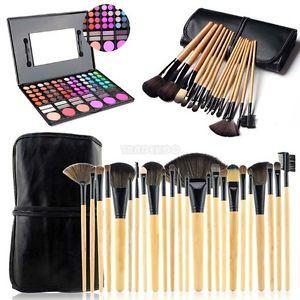 PALETTE-Pinceaux-Cosmetiques-Trousse-a-Maquillage-Professionnel-Set-de-Trousse