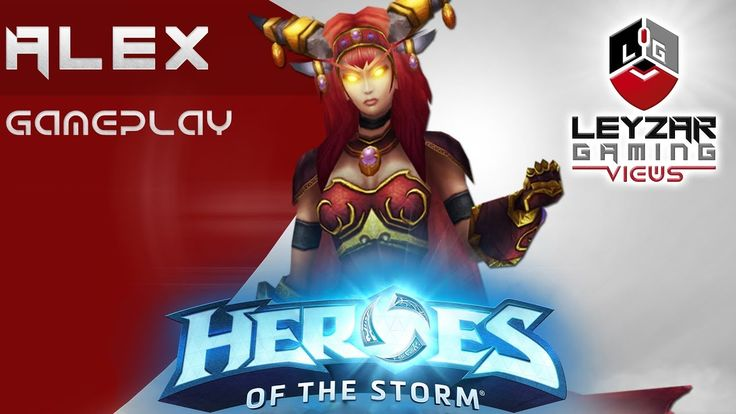 Heroes of the Storm (Gameplay) - Alexstrasza E Build (HotS Alexstrasza G...
