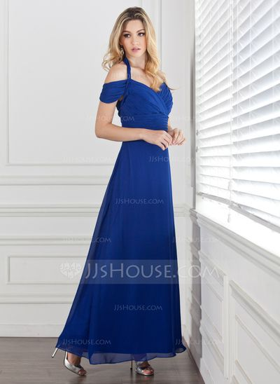 Evening Dresses - $124.99 - A-Line/Princess Halter Ankle-Length Chiffon Evening Dress With Ruffle (017005287) http://jjshouse.com/A-Line-Princess-Halter-Ankle-Length-Chiffon-Evening-Dress-With-Ruffle-017005287-g5287?ver=0wdkv5eh