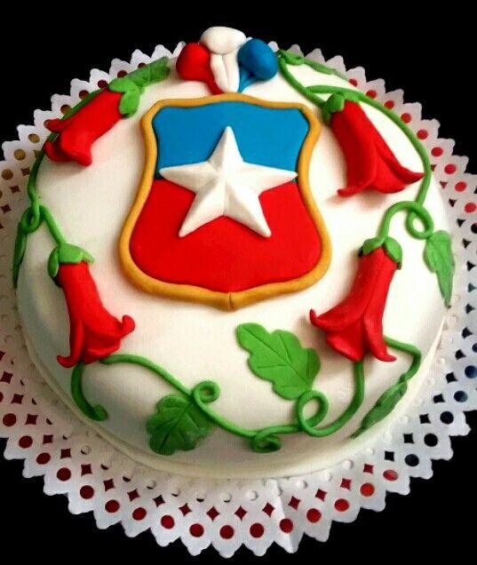 Torta Fiestas Patrias Chile