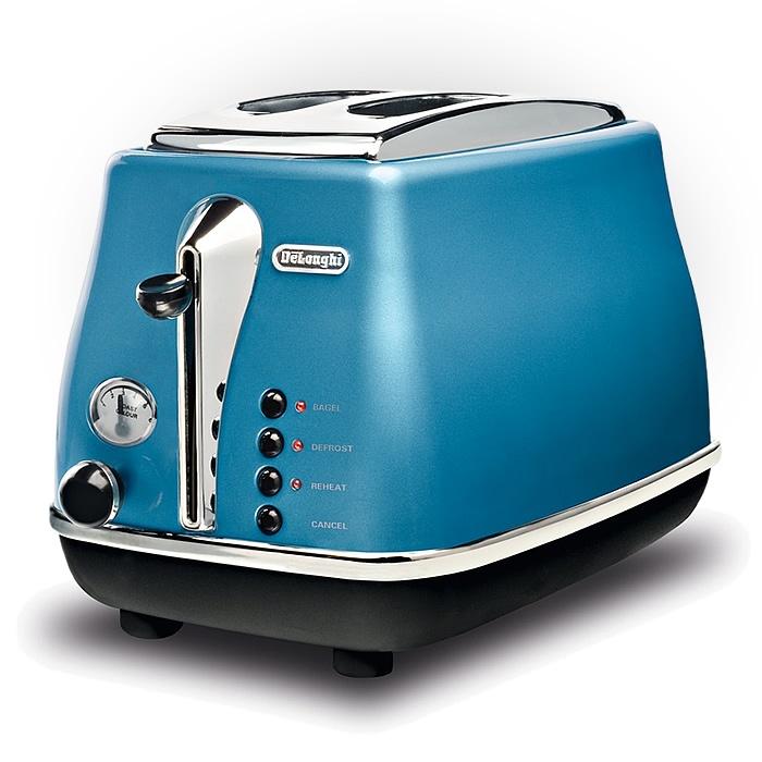 Toaster Icona Azure Blue DeLonghi CTO 2003 B