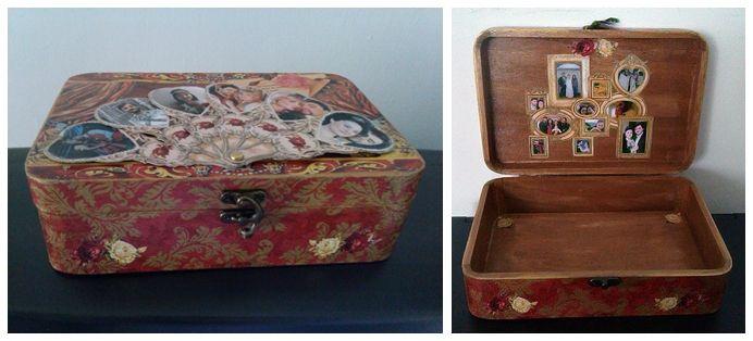 JEWELRY ORGANIZER box.