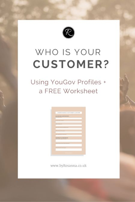 How well do you know your customers? Use these FREE tools and worksheets to get a better understanding of your business' clients.
