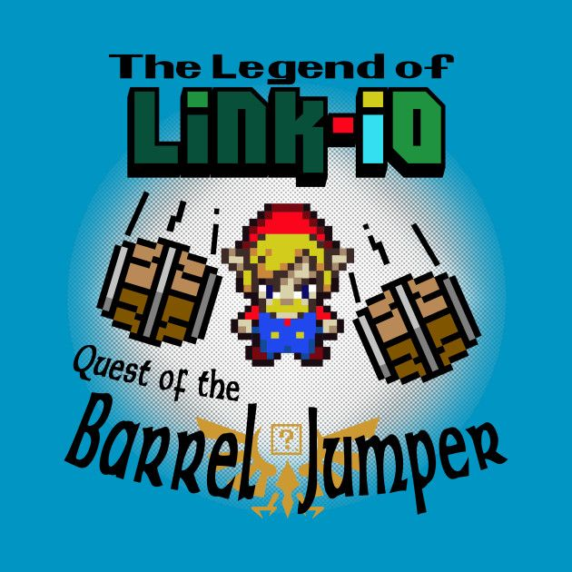 Check out this awesome 'Linkio' design on @TeePublic! #video-games #video #games #link #zelda #mario #tee #tshirt #nintendo