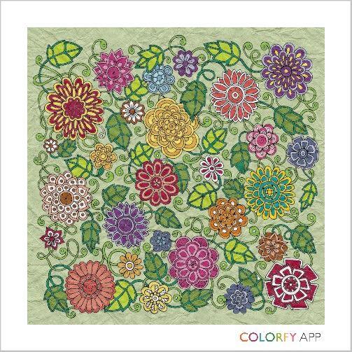 #flower #colour #colouring #colourapp #colourfull #hobby #metime