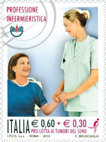 il francobollo dedicato agli infermieri