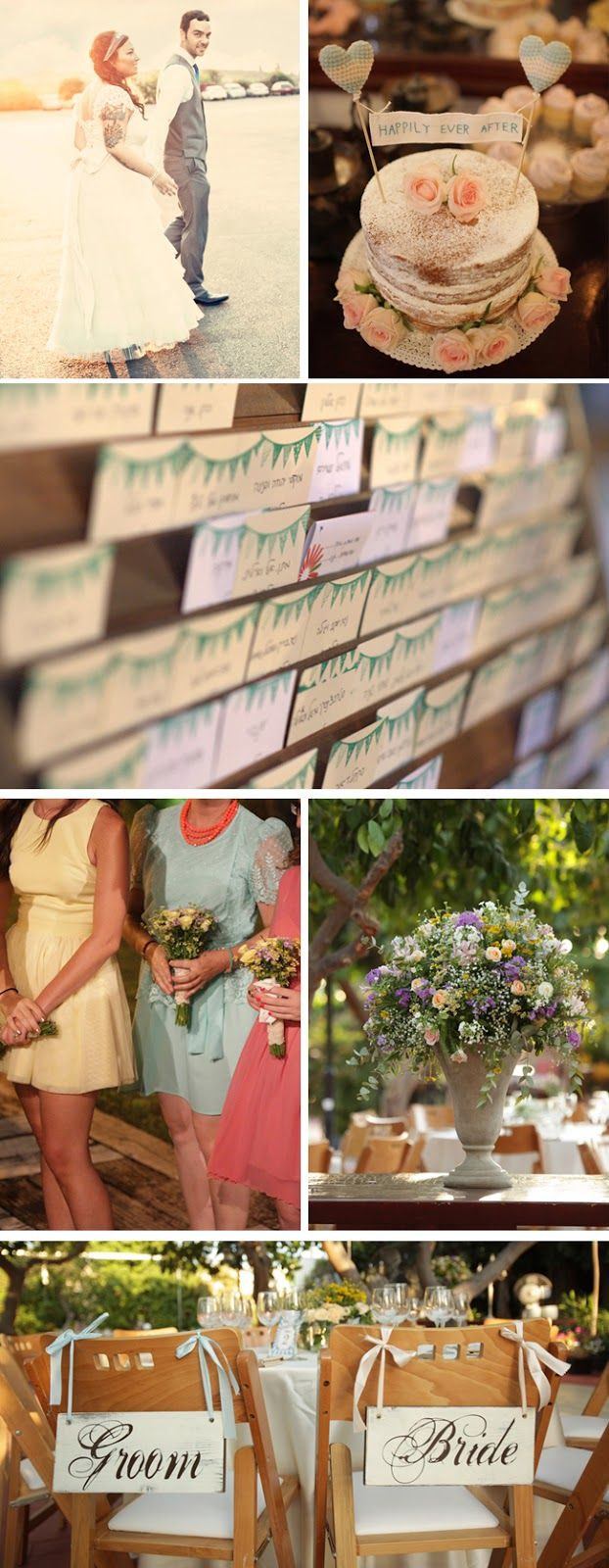 quirky and whimsical DIY wedding in Jerusalem