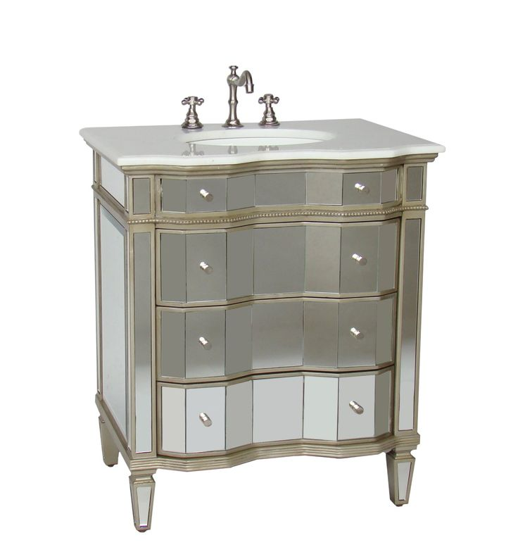 7 Best Images About Mirrored Bathroom Vanities On