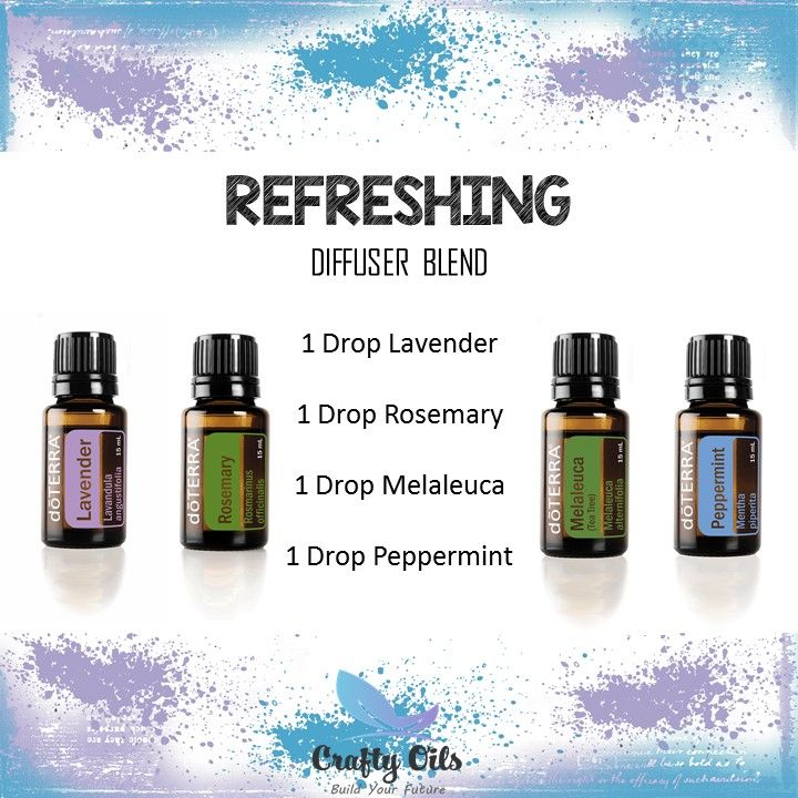 Refreshing Essential Oil Diffuser Blend