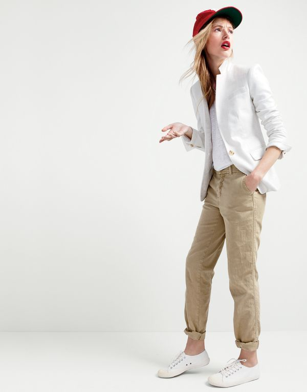 Lastest Drapey Chino Pant  Novelty  JCrew