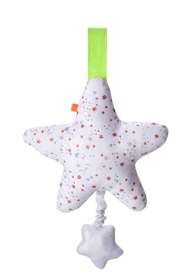 Zeitlos schöne Spieluhr STERN im edlen Design für beruhigende Stunden aus dem Hause KIKADUDie liebevoll gestaltete STERN Spieluhr aus der neusten Kollektion von KIKADU wird ihr Baby lange Zeit begleiten.