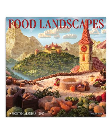 This Food Landscapes (Carl Warner) 2017 Wall Calendar is perfect! #zulilyfinds