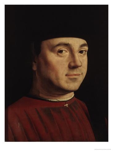Portrait of a Man ~ Antonello da Messina