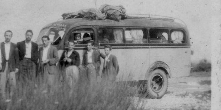 Δεκαετία του '50. 28ο ΚΤΕΛ Λευκάδος.