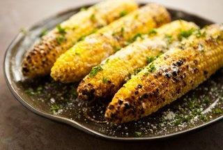 ... Parmesan Garlic, Food, Corn Recipe, Garlic Grilled, Vegetable, Grilled