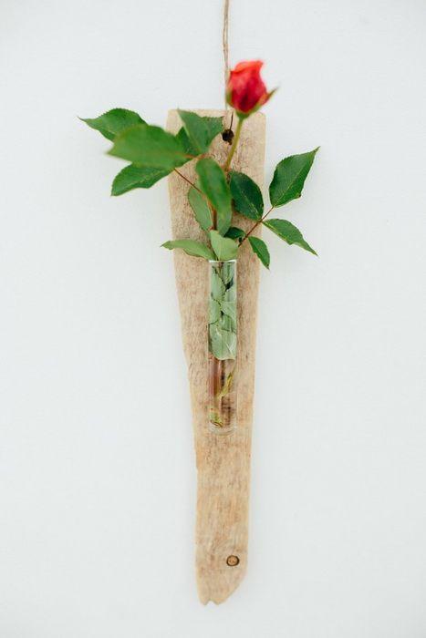 legno spiaggiato fai da te driftwood diy wall decor vaso parete