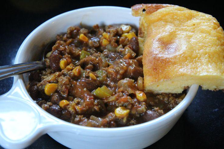 spoon bread with chilli
