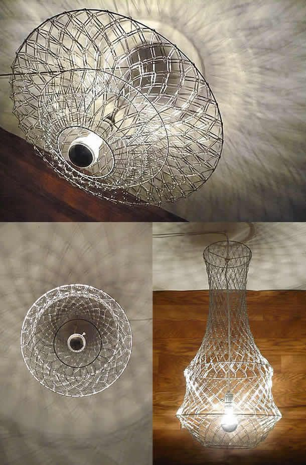 DIY: Paper Clip Chandelier by The Flying Fox Art and ...