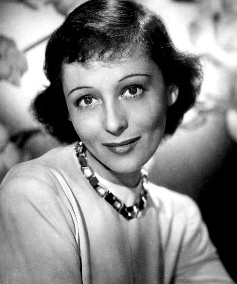 Austrian-American actress Luise Rainer, in a Paramount Pictures publicity photo from the 1930s.